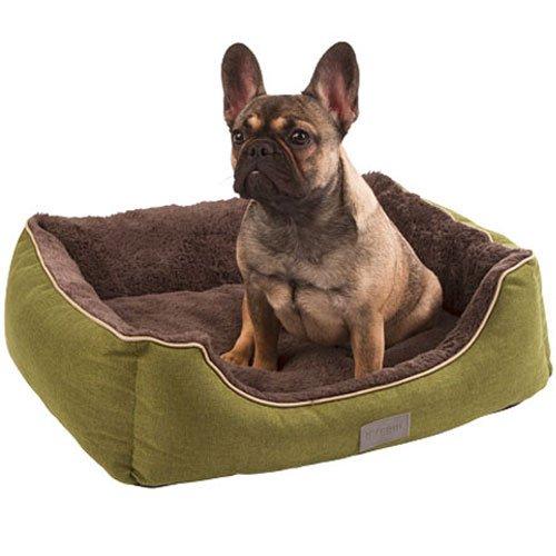 Hondenmanden | Hondenmand Samuel Groen/Grijs