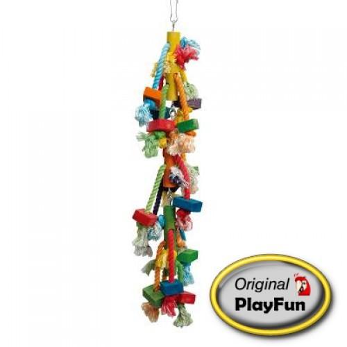 Speelhanger Fun String - Afmeting: 13 x 13 x 60 cm.