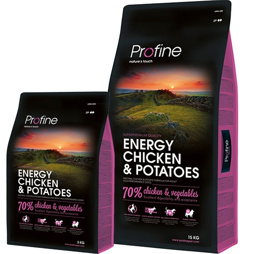 Profine Adult Energy   Voor hoge prestaties