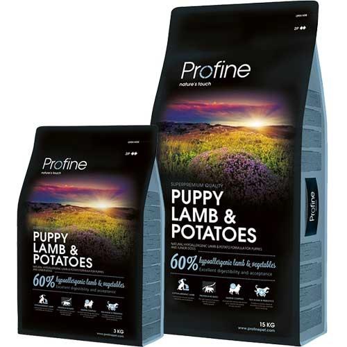 Profine Puppy Lam   Natuurlijke hondenvoeding
