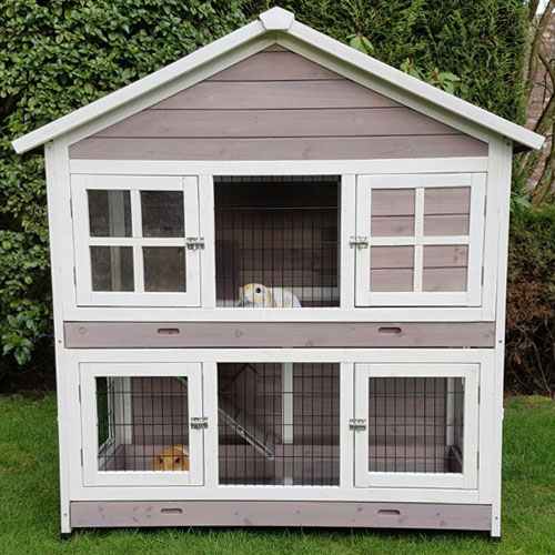 Konijnenhokken | konijnenhok Sissi