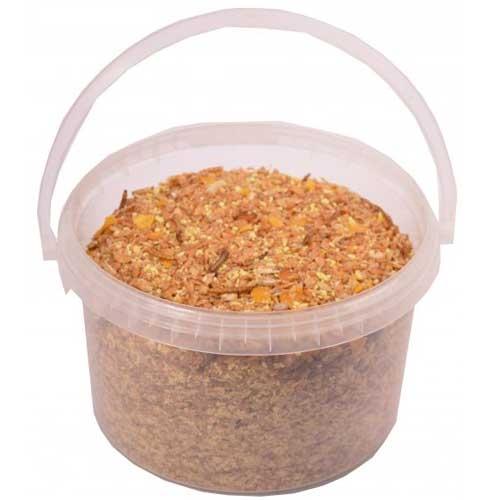 Kippenmuesli met meelwormen | Smaakvolle traktatie