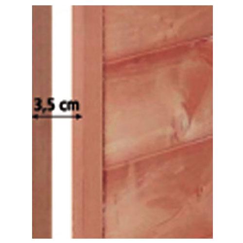 Kippenhok Nofrost - - dubbelwandige met isolatie (wanddikte 3,5 cm)