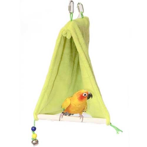 Vogel Schuilplaats met zitstok | Slaaptent voor vogels
