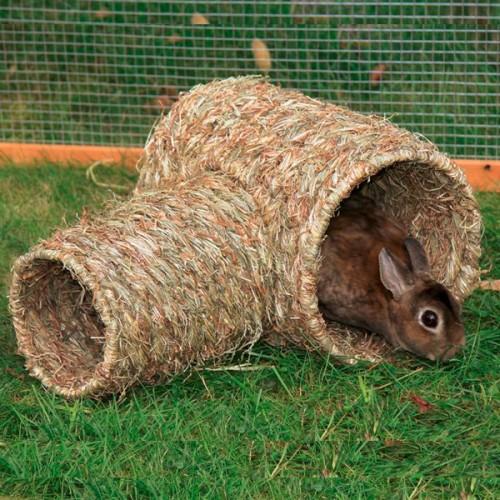 Grasnest Jumbo | Voor konijnen en andere kleine dieren