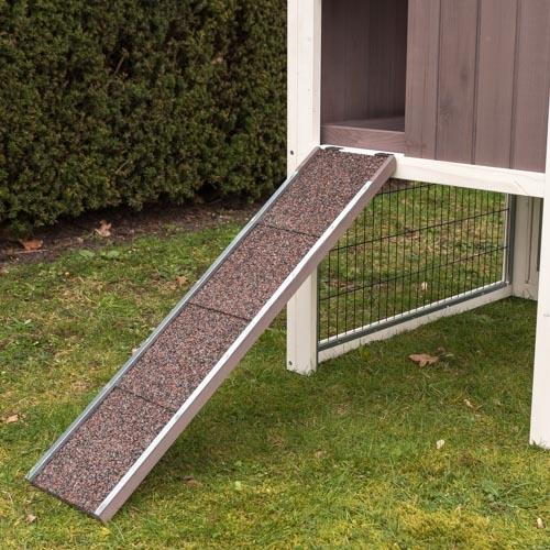 Konijnenhok Amalie trap