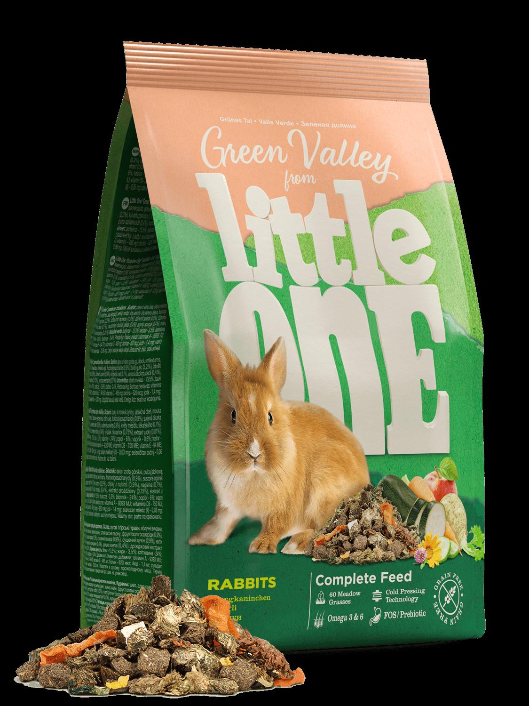 Little One konijnenvoer Groene Vallei