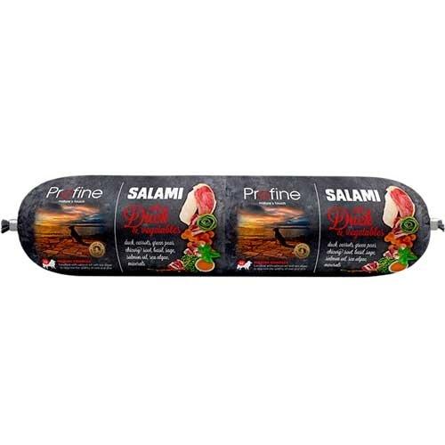 Hondenvoer worst salami eend en groenten | Profine