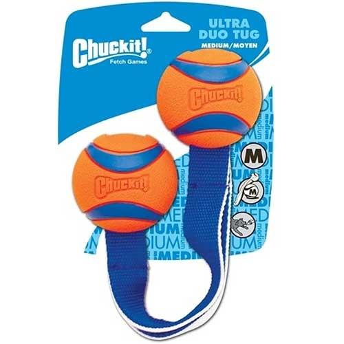 Chuckit Ultra Duo Tug | Lichtgevend hondenspeelgoed