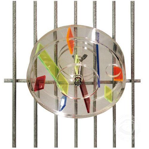 Interactief Papegaaienspeelgoed | Acryl speelwiel Large