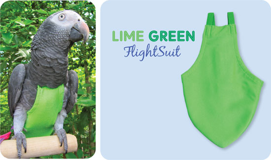 Flightsuit papegaaienluier X-Wide Long Groen