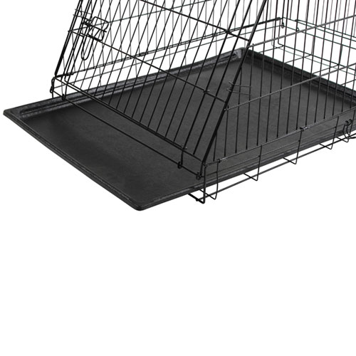 Bench 92 cm. zwart - beveiligde toegangsdeuren