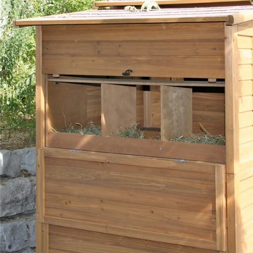 Kippenhokken | Kippenhok Exclusiv - leghok van buitenaf bereikbaar