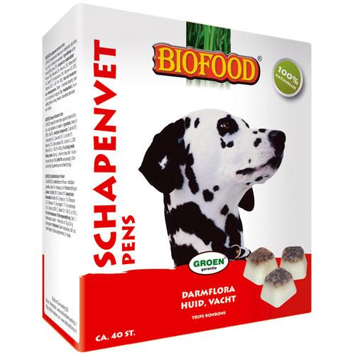 Hondensnacks | Schapenvet bonbons naturel 250gram