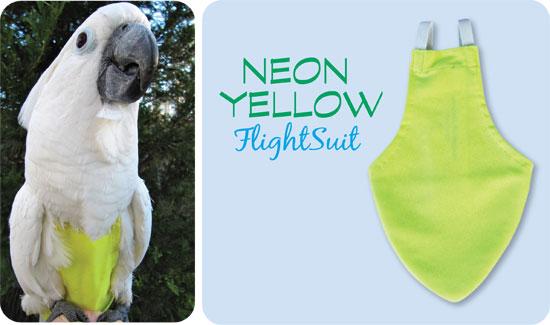 Flightsuit papegaaienluier Mammoth Geel