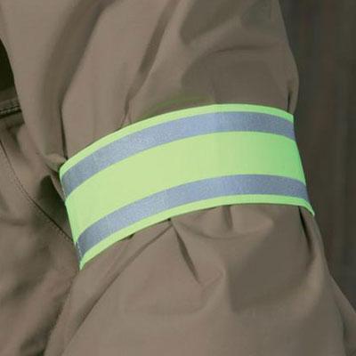 Reflecterende veiligheidsarmband met klittenband