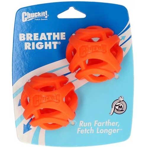 Chuckit Breathe Right Fetch Bal | Bal met luchtgaten
