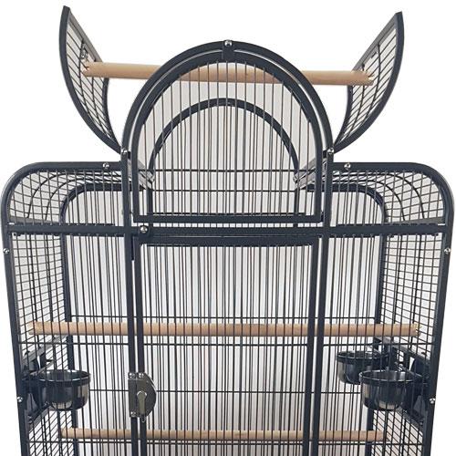Papegaaienkooien | Papegaaienkooi Bianca Grijs