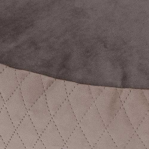 Hondenkussen Elegant Taupe/Bruin detail