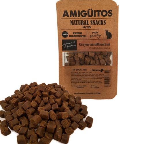 Kattensnack Amiguitos Kip | Gezond en glutenvrij