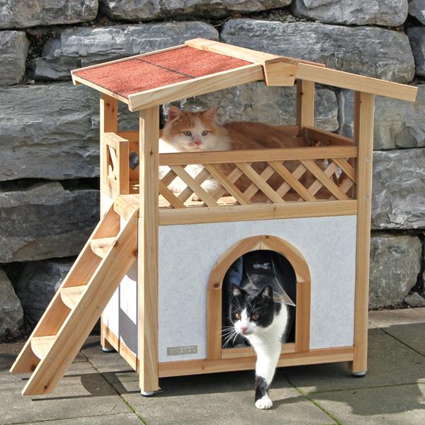 Kattenhuis Tirol - Optimale isolatie en weersbestendig
