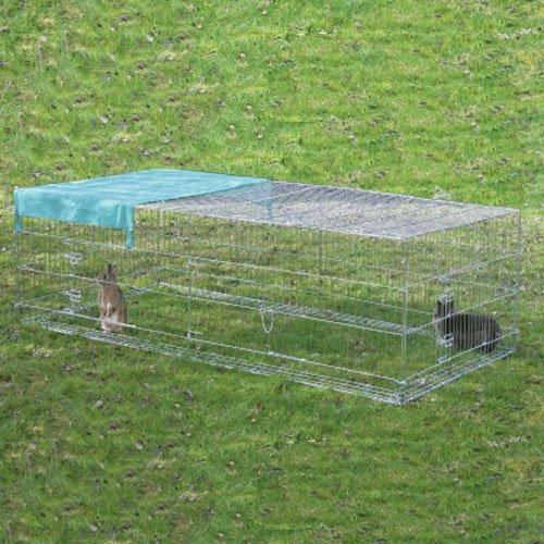Kippenren Mimi 230 cm. | Geleverd inclusief zonnescherm