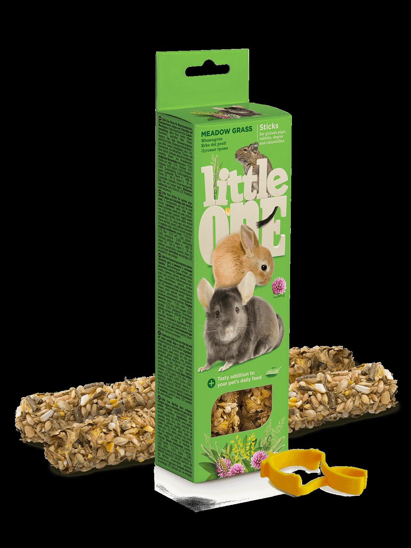 Knabbelsticks voor konijnen en knaagdieren met weidegras