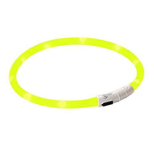 Maxi Safe LED halsband geel