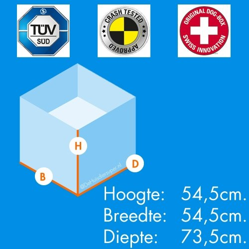 Autobench Pro 1 Small - Afmetingen 54,5x54,5x73,5cm.