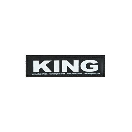 Julius K9 tekstlabel King
