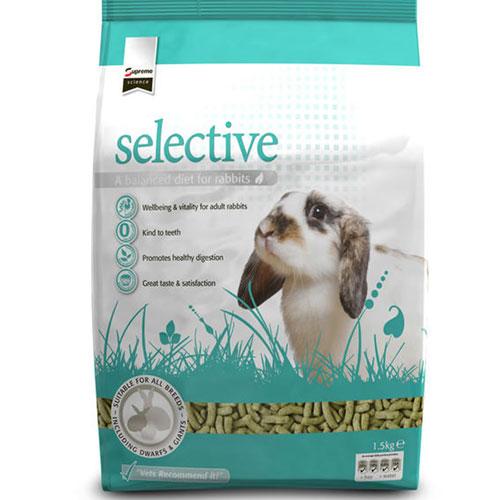Supreme Science Selective Pellet konijnenvoer 1,5 kilo