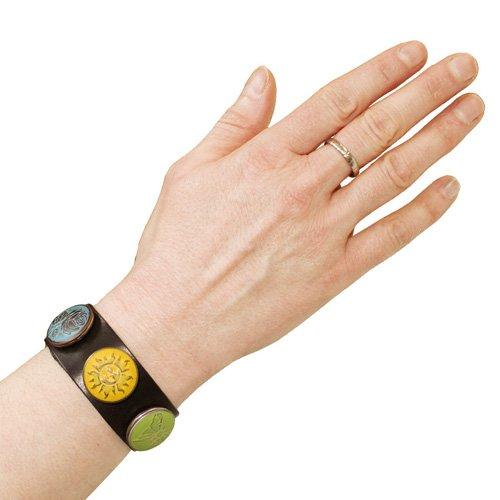 Op elke armband passen 3 Chunks