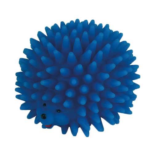 Vinyl Hondenspeelgoed | Egel met piepgeluid Blauw