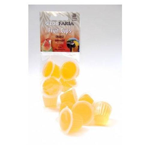 Vogelsnacks | Zoofaria Fruitkuipje Sinaasappel 6 stuks