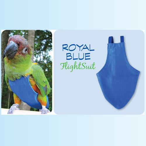 Flightsuit papegaaienluier Petit Blauw