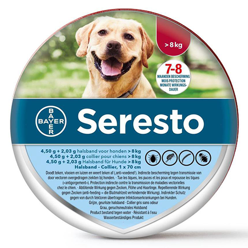 Seresto Teken-en Vlooienband grote hond
