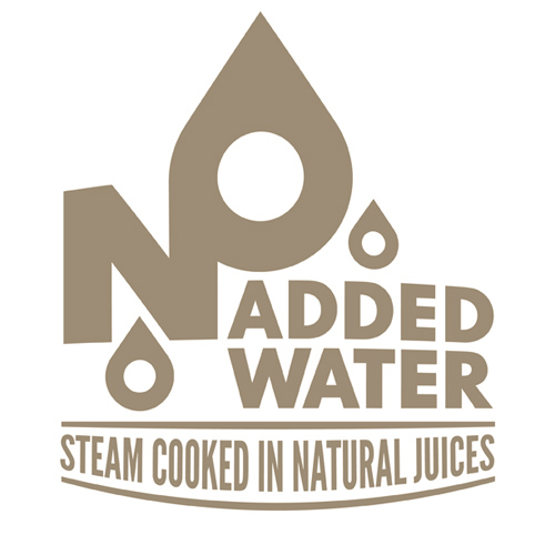 Geen toegevoegd water