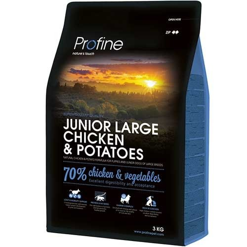 Profine Junior Large Breed Kip | Tarweglutenvrij