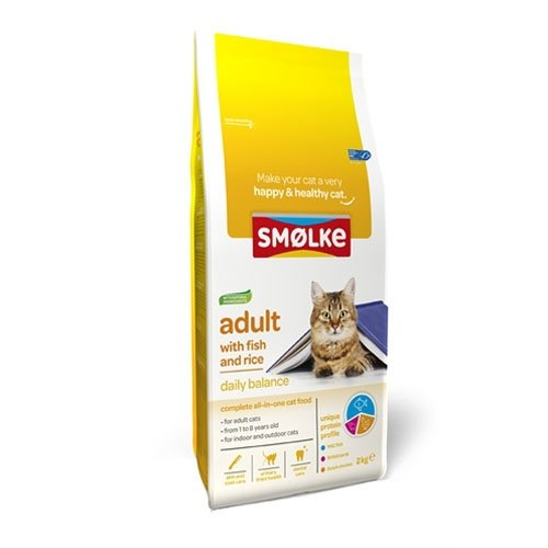 Smolke Cat Adult Fish and Rice 10kg.