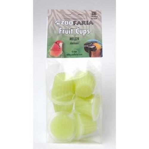 Vogelsnacks | Zoofaria Fruitkuipje Meloen 6 stuks