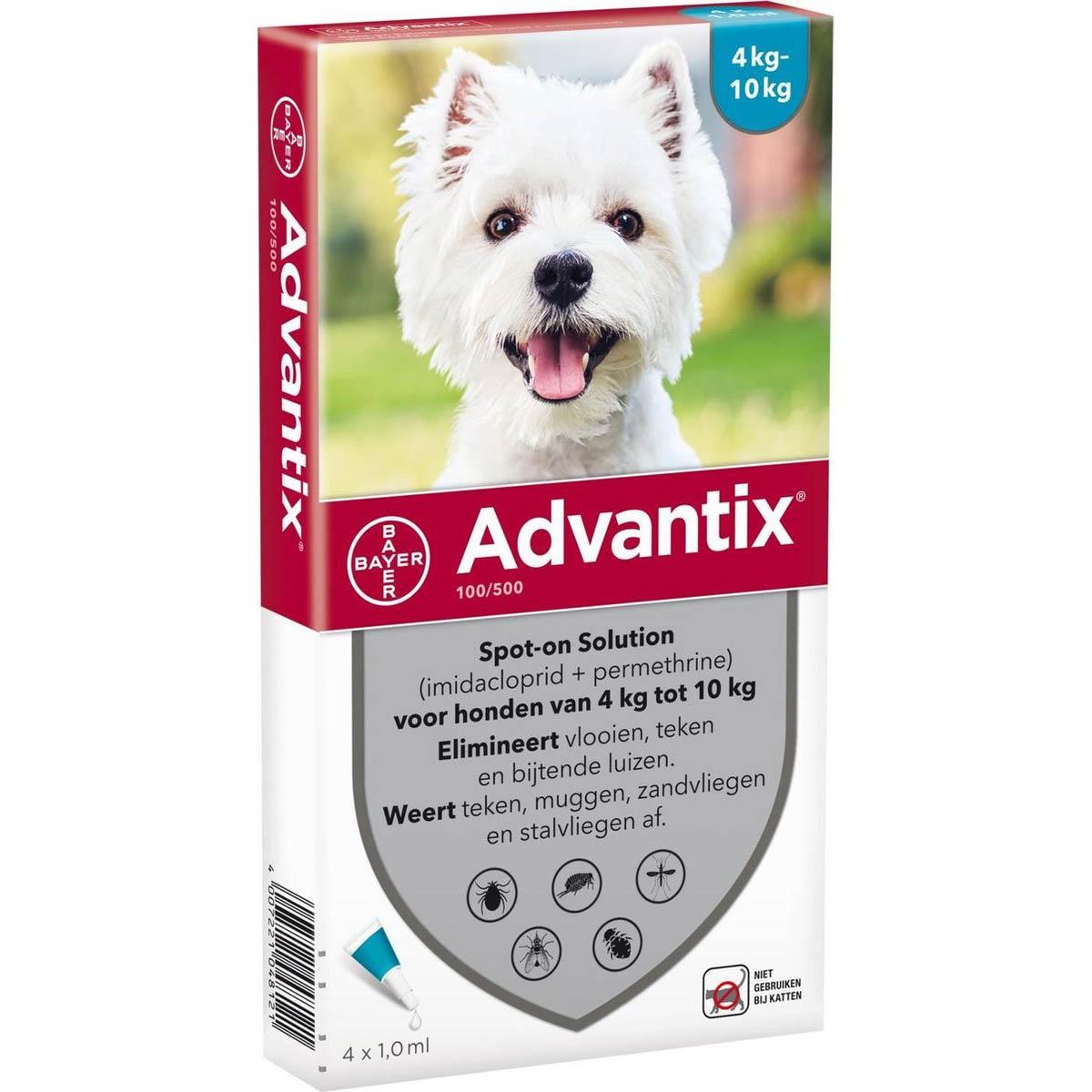 Advantix Hond 100 - 4 pipetten