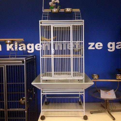 Papegaaienkooien   Papegaaienkooi Helios Parelwit   Showroom