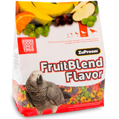 Vogelvoer | Papegaaienvoer | Zupreem Fruitblend Flavor 1.6kg