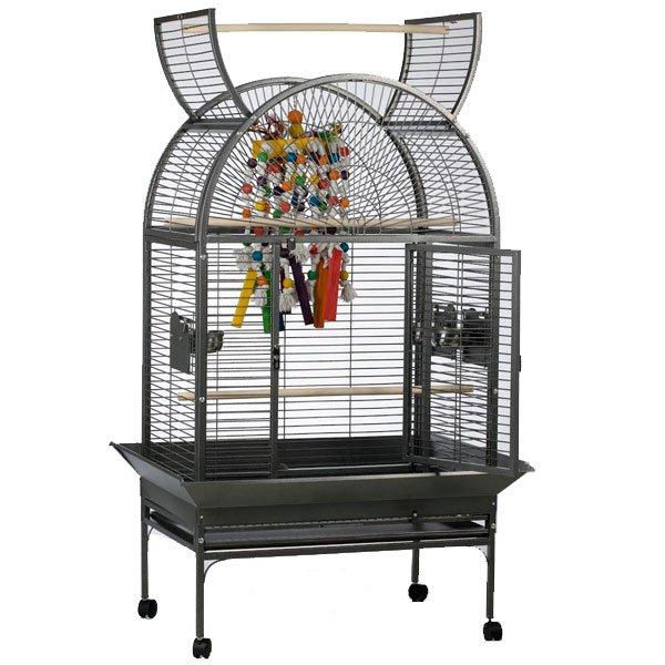 original strong papegaaienkooi Isa grijs