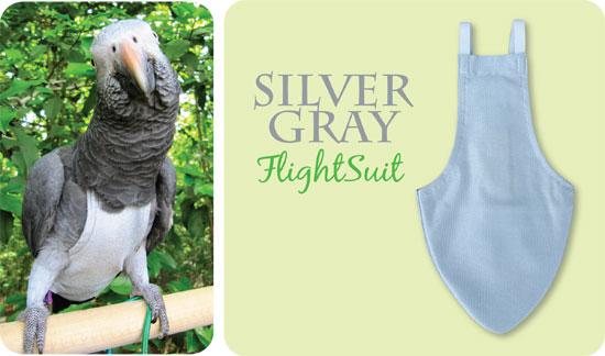 Flightsuit papegaaienluier Jumbo Grijs