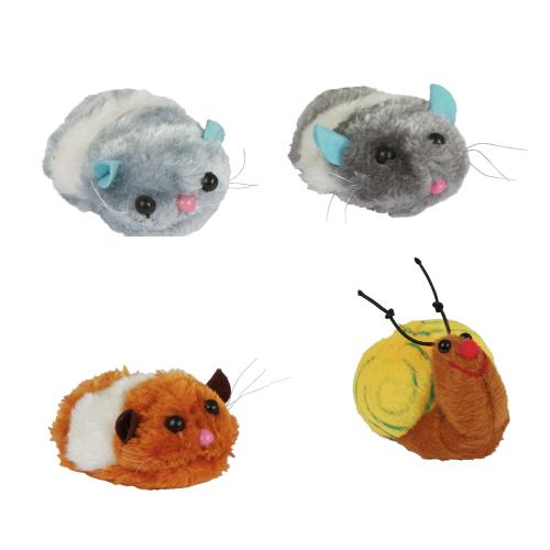 Kattenspeelgoed | Pluche opwindspeelgoed